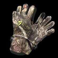 ScentBlocker Men's Trinity Glove with Text Touch Mossy Oak Country Med/Large GWT