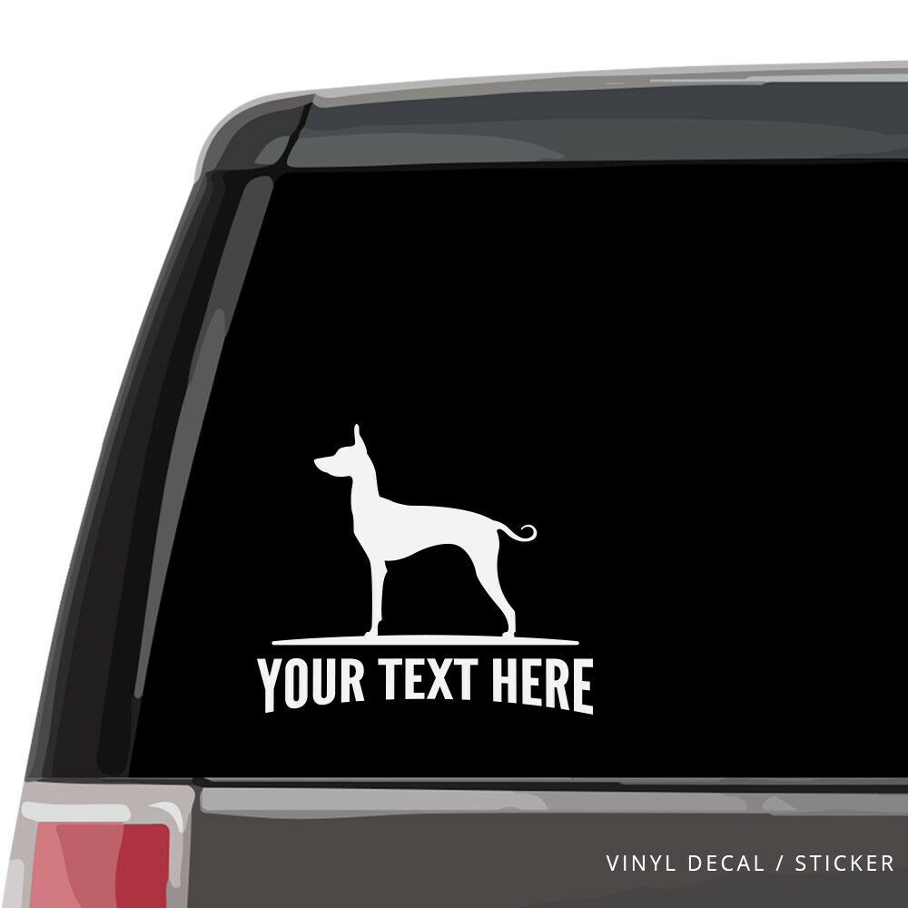Details about mexican hairless dog car window decal personalized vinyl sticker xolo