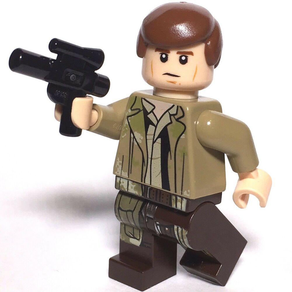 star wars lego han solo endor outfit genuine 75094 new imperial shuttle tydirium ebay. Black Bedroom Furniture Sets. Home Design Ideas