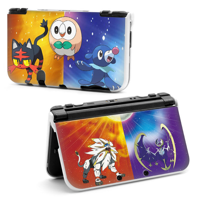 Pokemon sun and moon hard case cover for new nintendo 3ds for Housse 3ds xl pokemon