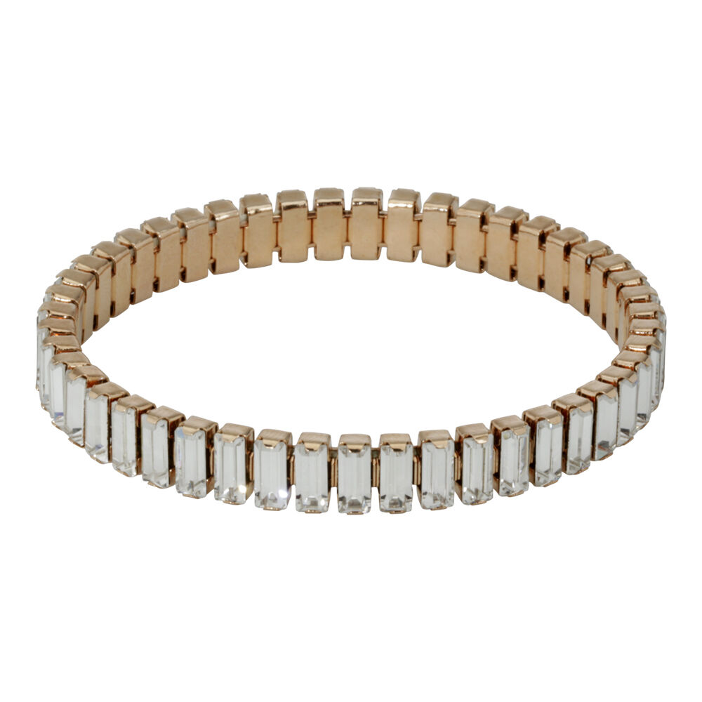 swarovski two tone lightning ladies tennis bracelet 5107164 ebay. Black Bedroom Furniture Sets. Home Design Ideas