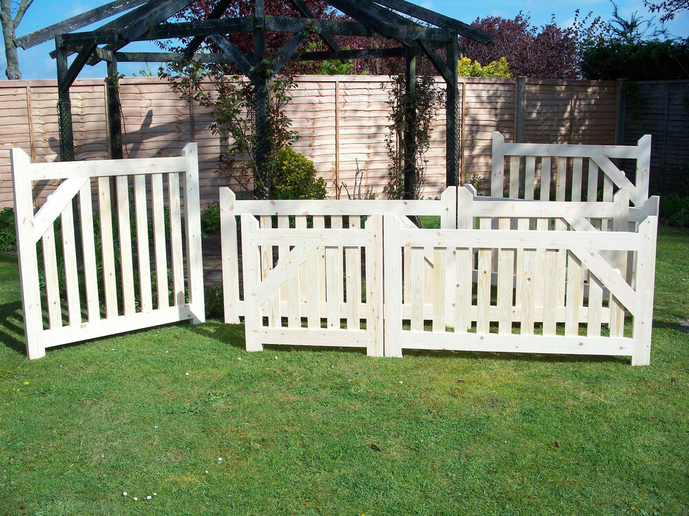 Single Wooden Driveway Gate 3ft 6 High X 2ft 6 6ft