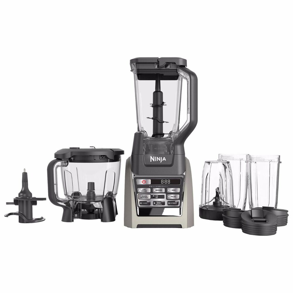 Ninja Kitchen System 1200: Ninja TOTAL BOOST BL687 Auto-iQ 1500 Watt Blender Juicer