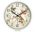 European Rural Quartz Mute Living Room/Bedroom/Study 14-inch Wall Clock KT-218