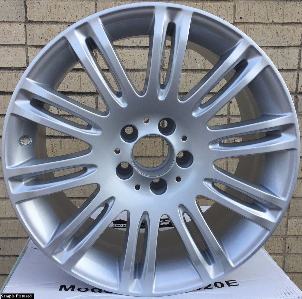 1 new 18 alloy front 8 5 wheel mercedes benz e350 e550 for Mercedes benz oem replacement parts