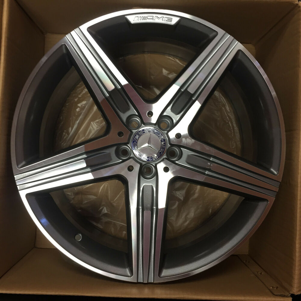 4 new 20 2016 oem mercedes benz s63 amg wheels s550 cl550 for Mercedes benz amg rims for sale