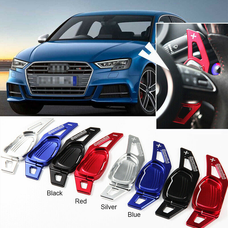 Steering Wheel Aluminum Shift Paddle Shifter Extension For Audi S3 Rs3 2015 2016 Ebay