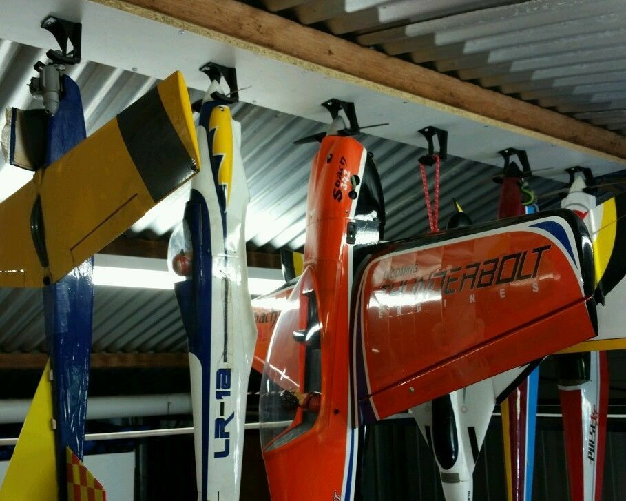 Prop Hanger Rc Airplane Storage Hang Plane From Ceiling