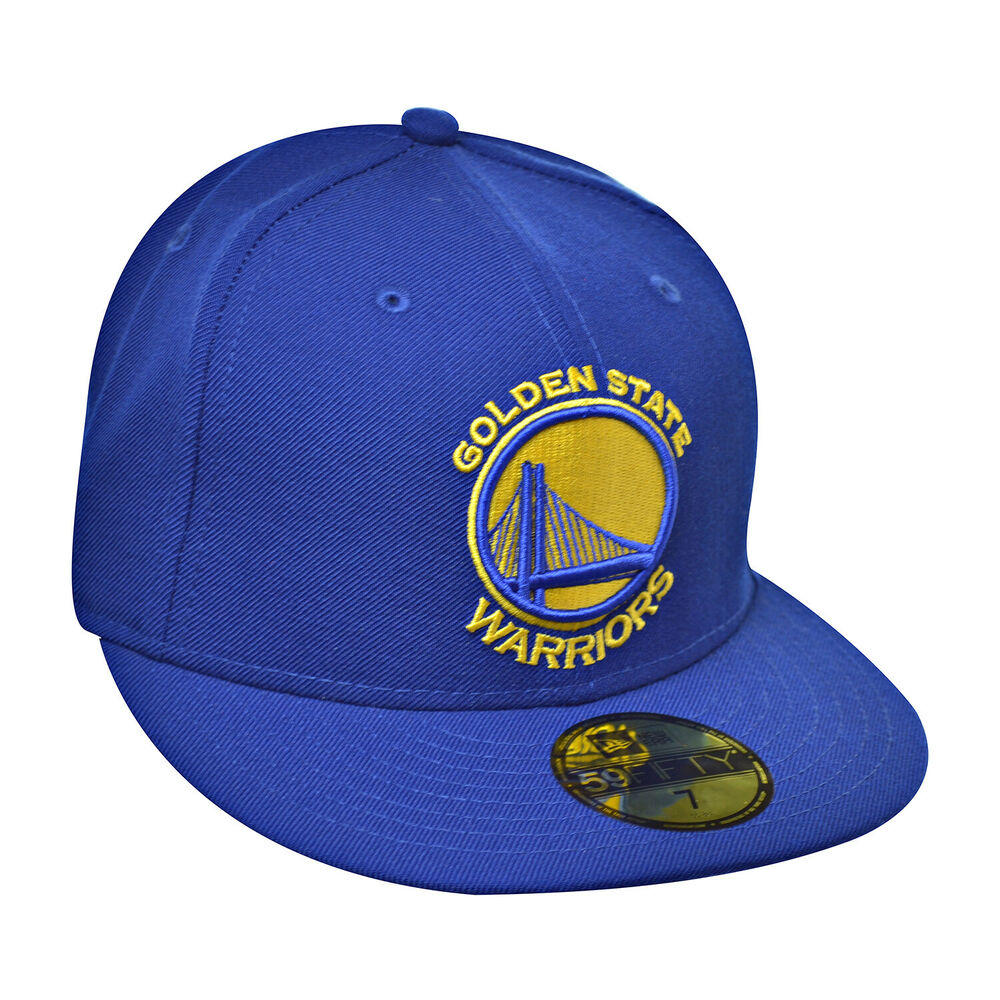 be6b6ce5886e8 Details about New Era Golden State Warriors NBA 59Fifty Men s Fitted Hat  Cap Blue Yellow