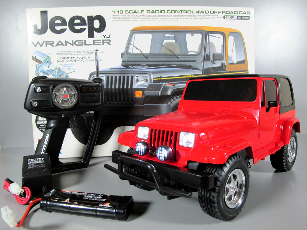 new built tamiya r c 1 10 cc 01 jeep wrangler 4wd with led light esc battery rtr martlocal. Black Bedroom Furniture Sets. Home Design Ideas