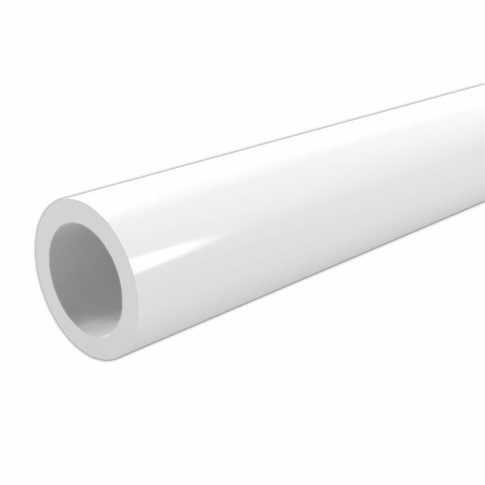 White High Gloss Furniture Grade Pvc Pipe And Fittings