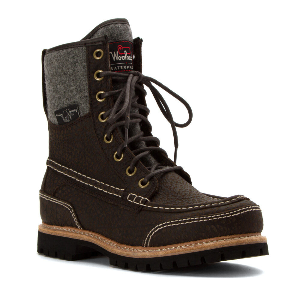 Woolrich Boots Mens Squatch Winter Boots Waterproof Leather Boots New Ebay