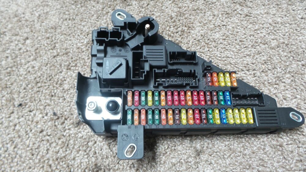 s l1000 bmw e60 m5 550i e63 e64 650i 645ci m6 fuse box relay module E63 M6 White at crackthecode.co
