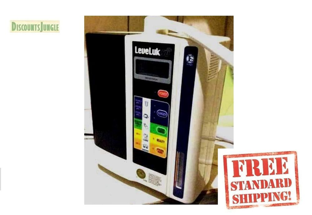 Enagic Kangen Water Ionizer Machine Leveluk Sd501 New Ebay