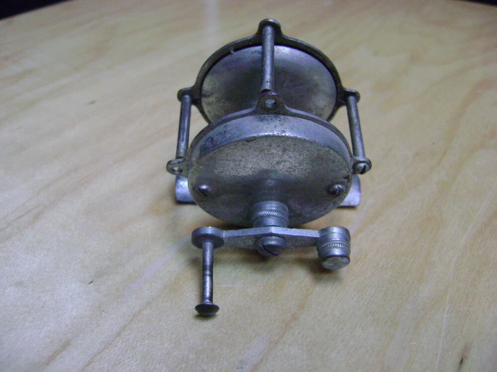 Rare old vintage antique fishing reel ebay for Antique fishing reels