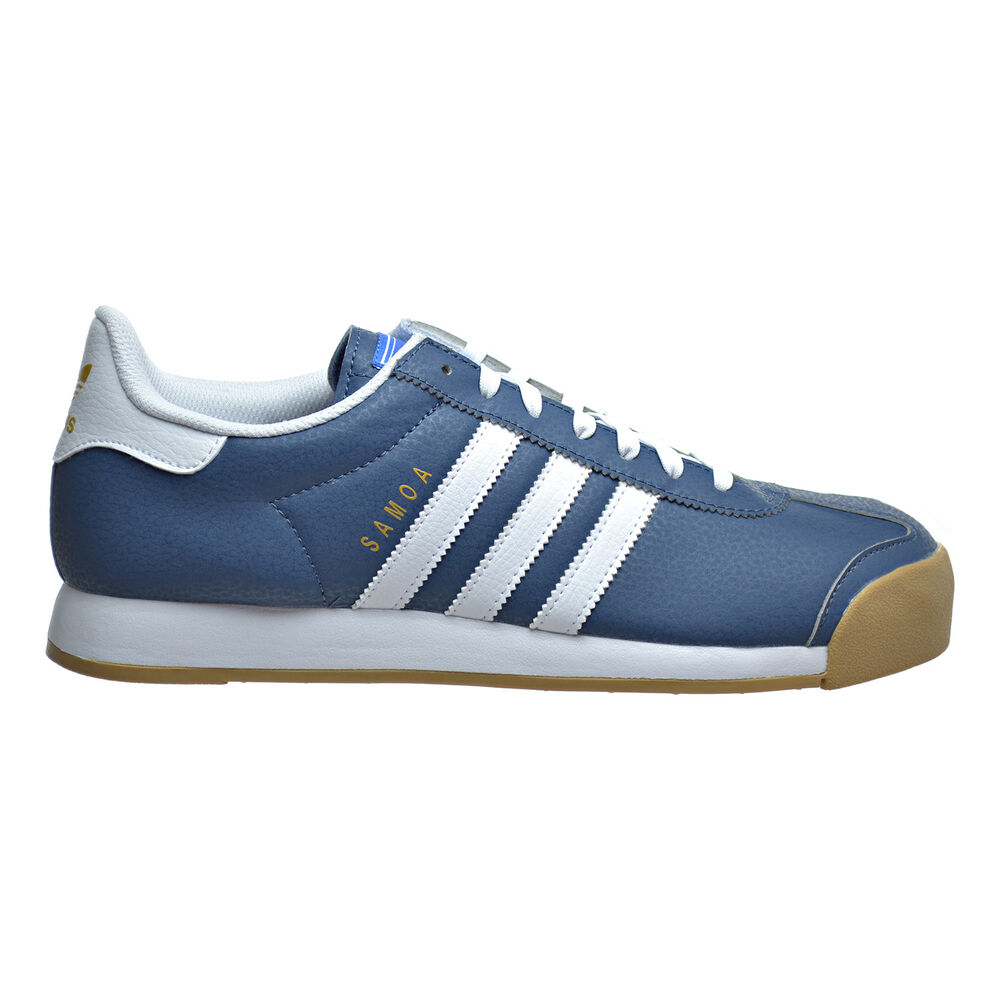 Blue And White Boys Adidas Shoes