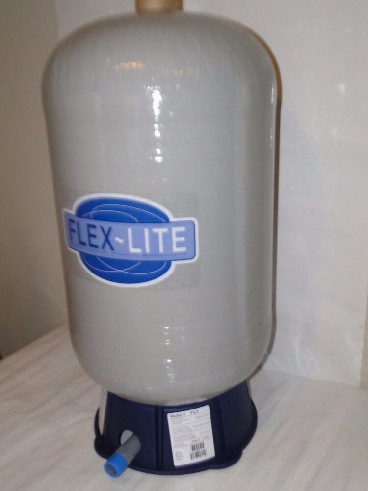 fl 7 22 gal flexcon flex lite water well pressure pump tank wellmate wm6 wx202 ebay