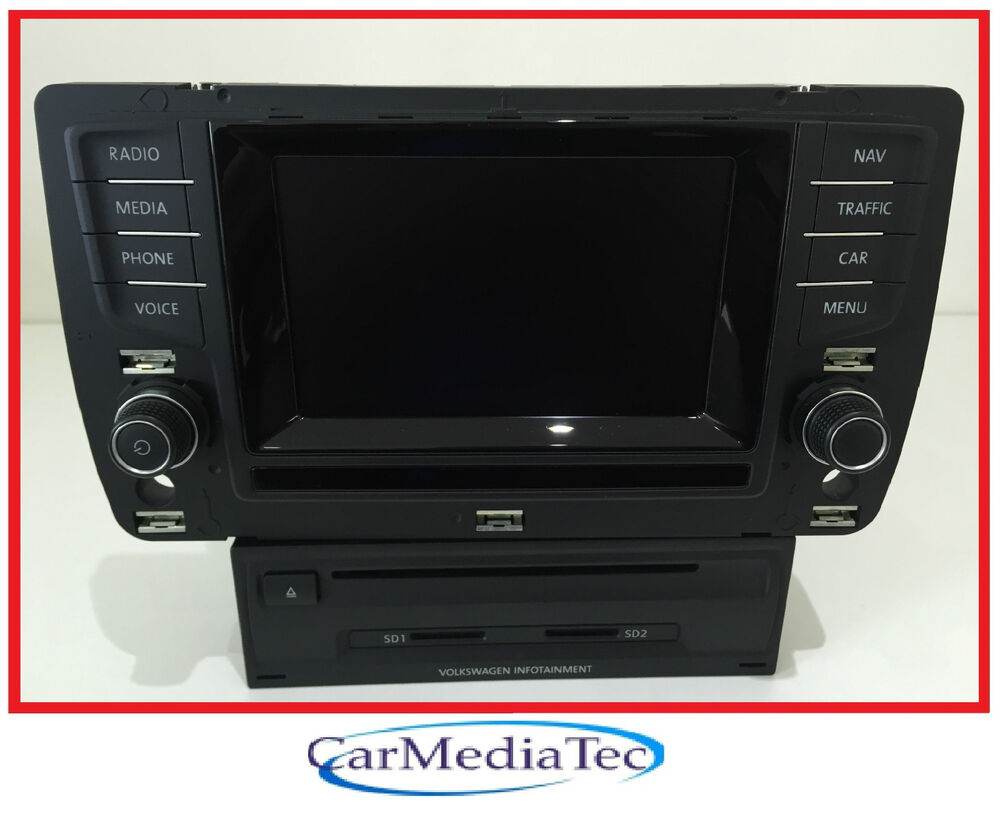 vw golf 7 vii 5g discover media radio navigation. Black Bedroom Furniture Sets. Home Design Ideas