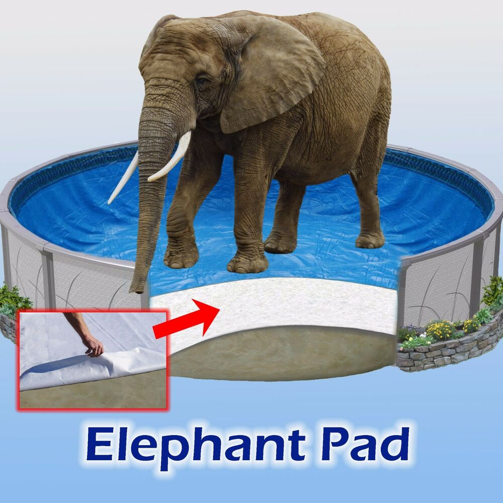 Pool Liner Pad Elephant Beats Gorilla Guard Armor