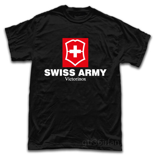 Swiss Army Knife Tools Logo New T Shirt Ebay