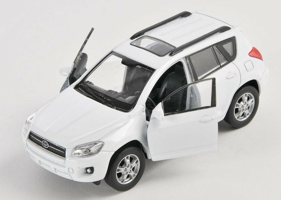 blitz versand toyota rav 4 rav4 weiss white welly. Black Bedroom Furniture Sets. Home Design Ideas