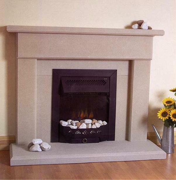 THE AIREDALE STONE STONE FIREPLACE FIRE PLACE SURROUND