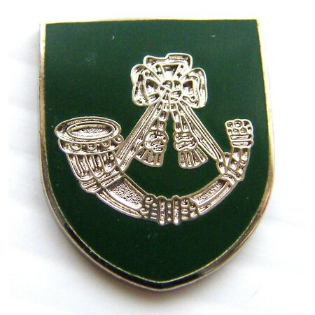 img-THE LIGHT INFANTRY ARMY MILITARY LAPEL PIN BADGE FREE GIFT POUCH MOD APPROVED