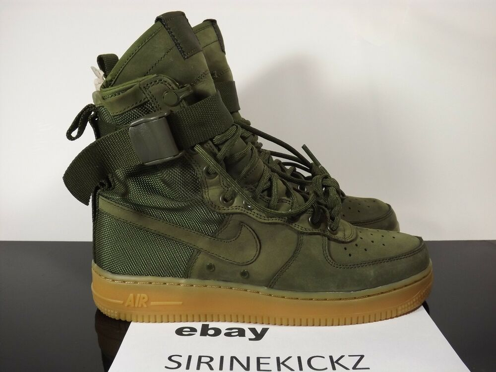 Nike SF AF1 Special Field Boot Air Force Urban Utility Olive Green 859202-339 | EBay