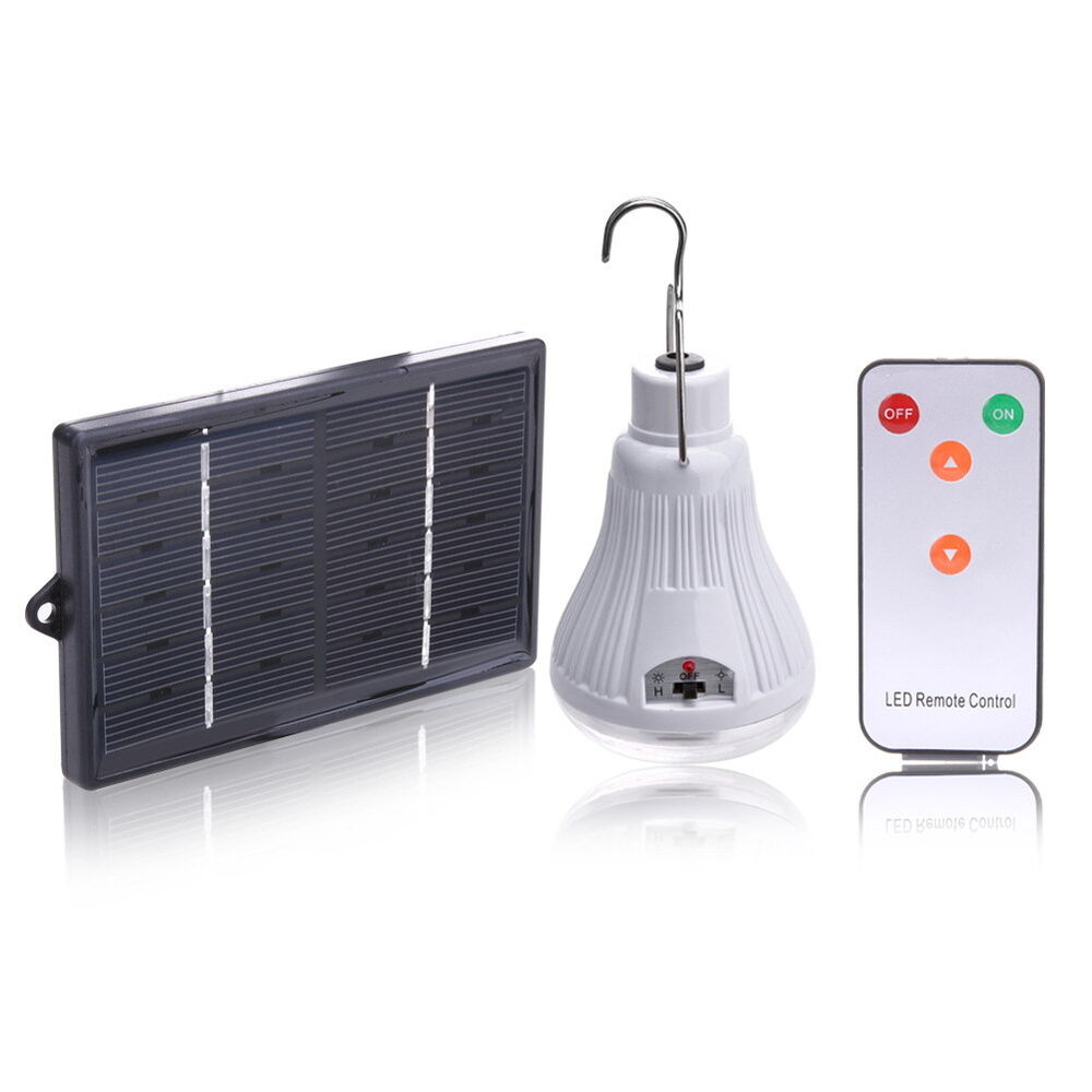 New Outdoor Indoor 20LED Shed Solar Lamp Camping Garden