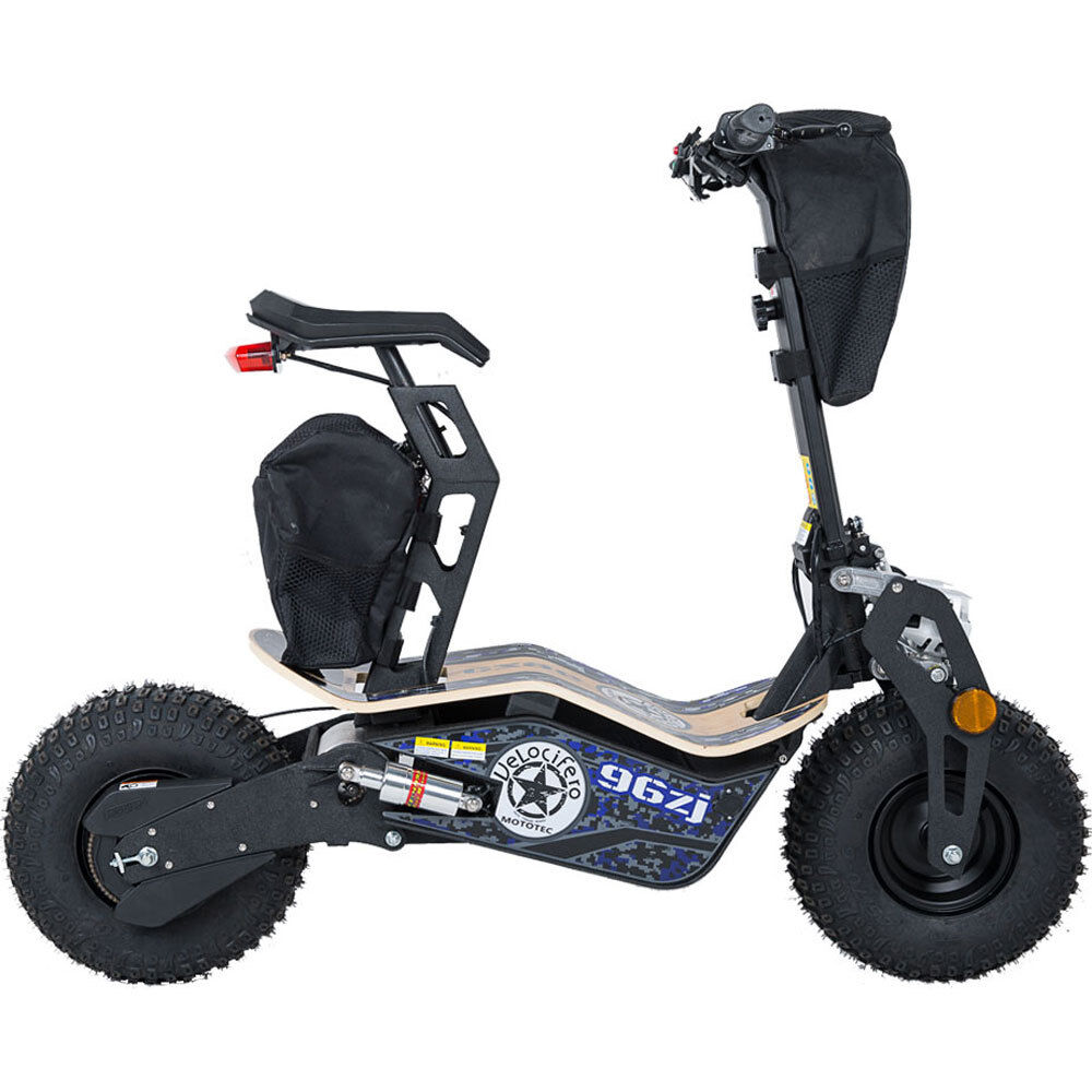 electric e scooter ev 1600 watt 48 volt battery seat. Black Bedroom Furniture Sets. Home Design Ideas