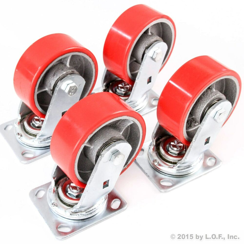 Heavy Duty Swivel Casters Ebay Autos Post