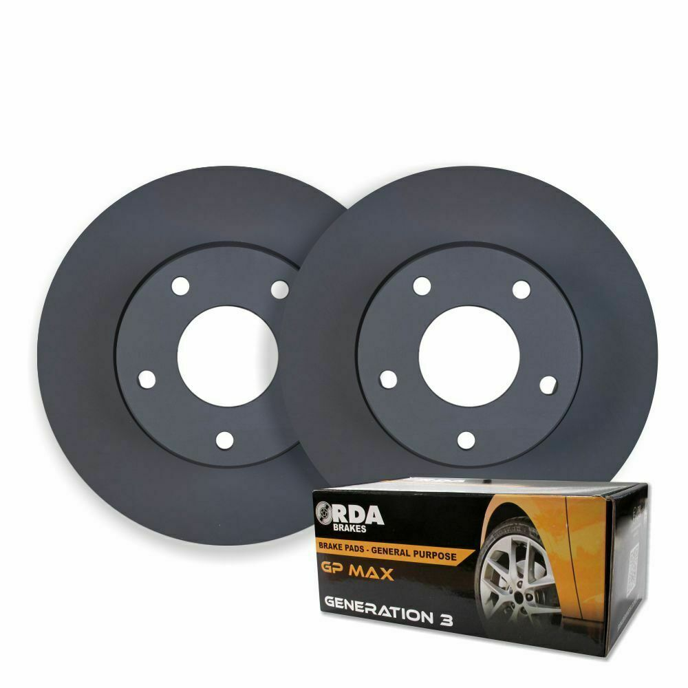 FRONT DISC BRAKE ROTORS + PADS For Landrover Discovery TD5