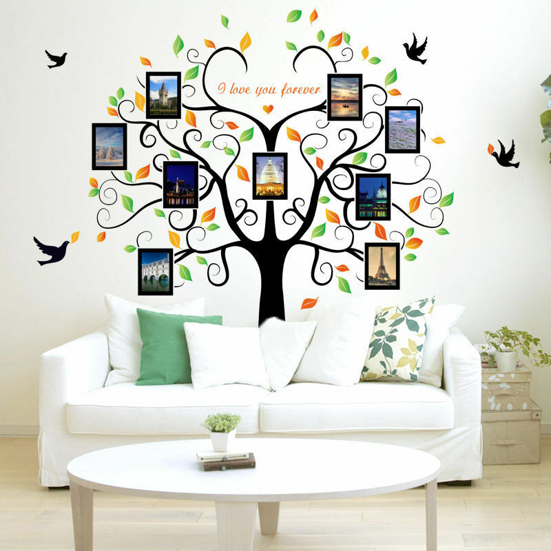 DIY Home Family Decor Photo Tree Removable Decal Wall