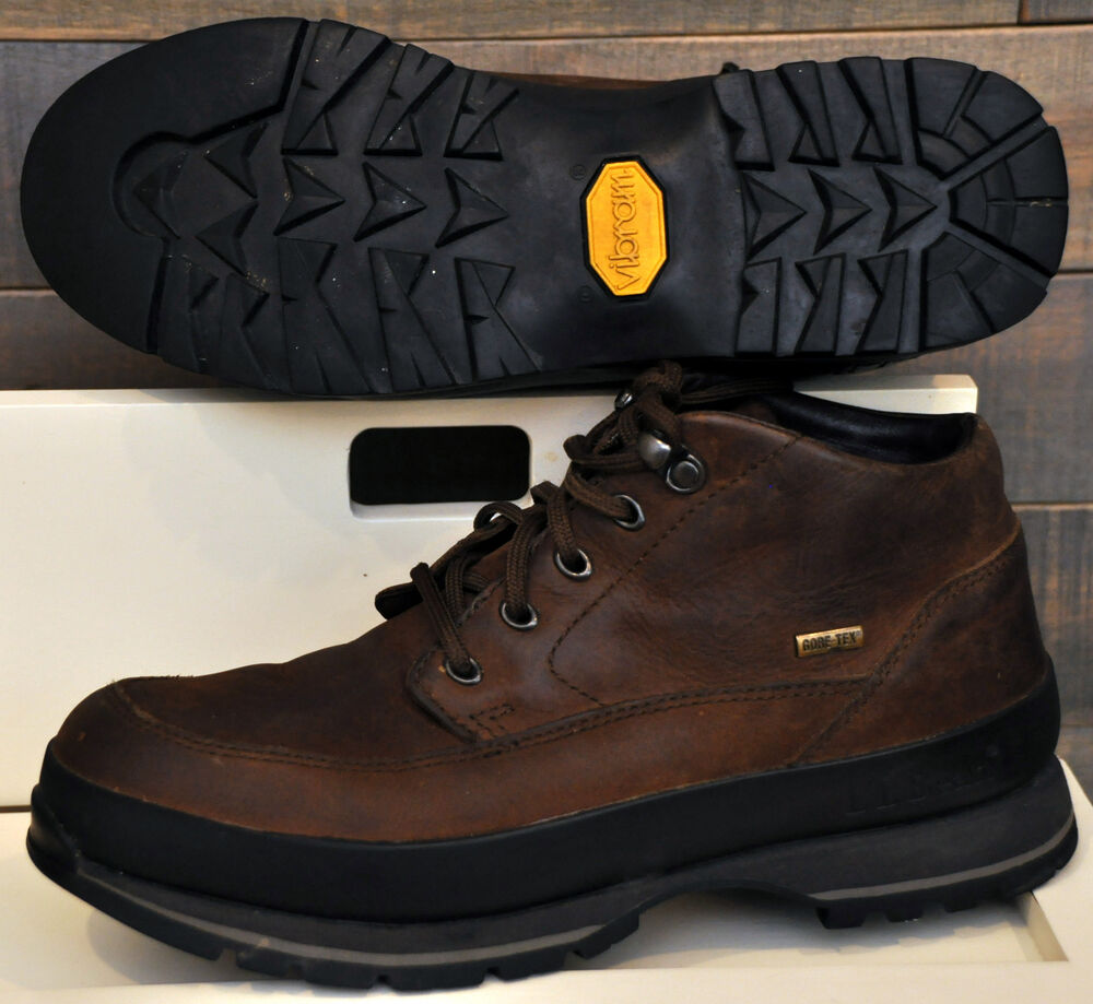 ll bean 05330 s hiking boots brown leather tex
