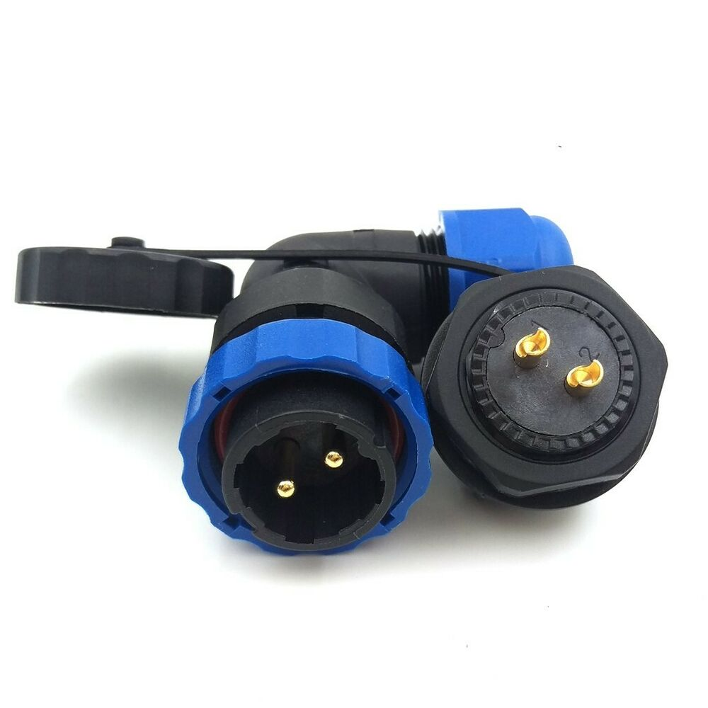 Sd20ta Zm 90 176 Ip67 2pin Connector Industrial Power Cable