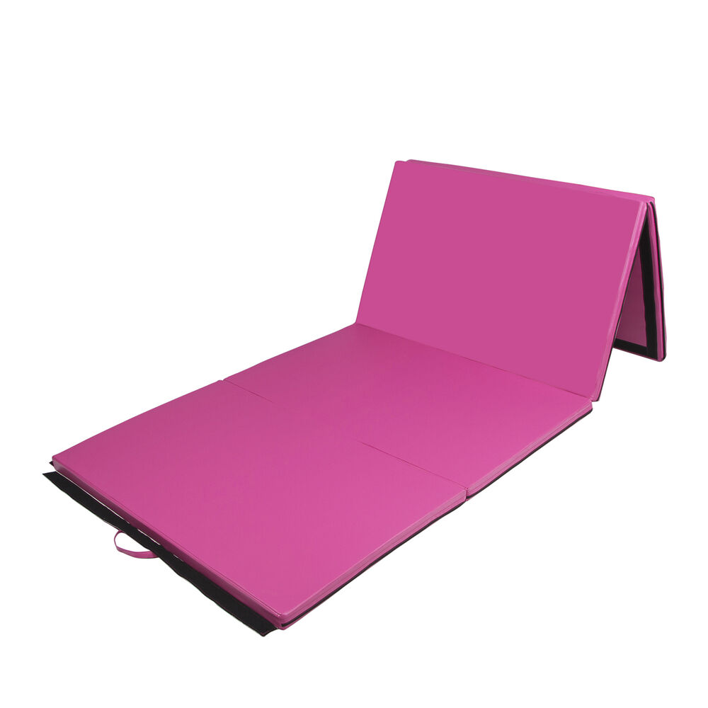 4x10FT Folding Gymnastic Mats Yoga Fitness Exercise