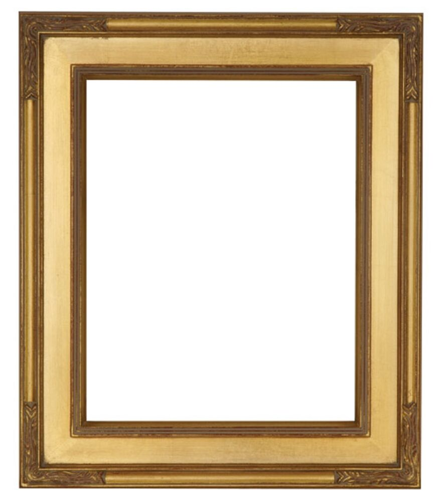 Standard 20 x 24 plein air picture frame classic gold leaf for Picture frame corners