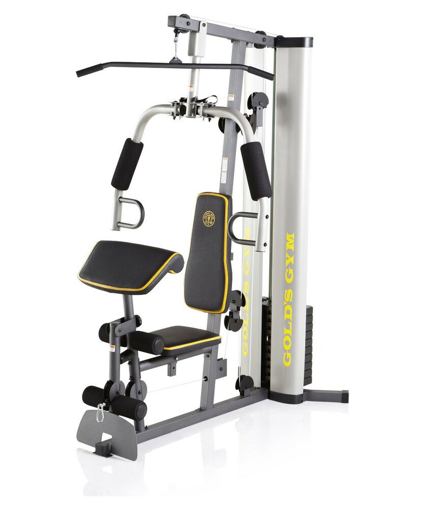 Fitness Equipment Home Gym: NEW Golds Home Gym XR 55 Training Workout Total Fitness