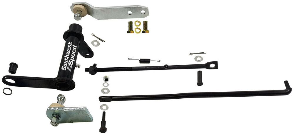 New 1956 Chevy Clutch Pedal Linkage Kit 3  4 U0026quot  Z