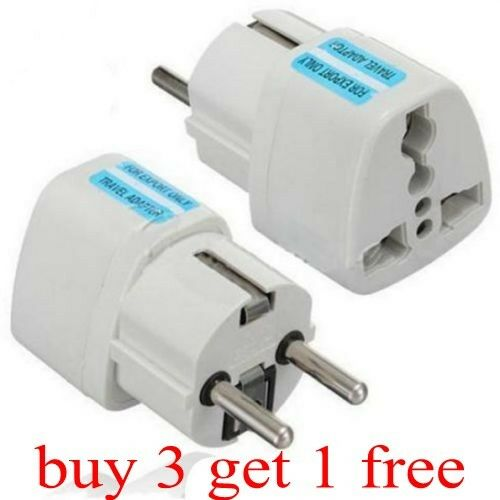 Eu To Aus Travel Adapter Qc2 0 Qc3 0 Adapter 9v 1 67a Android Adapter Realm Microsoft Xbox Wireless Adapter Xbox 360: New Portable UK US AU To EU European Power Socket Plug