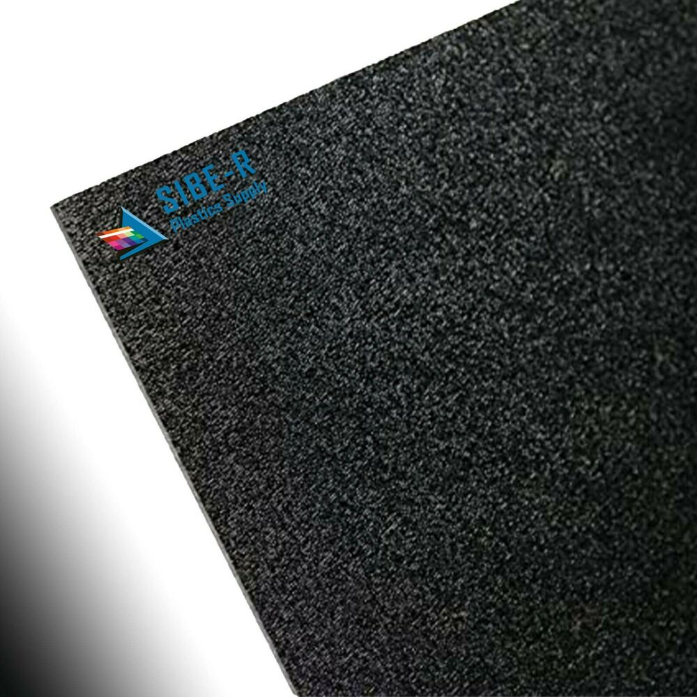 Black Plastic Abs Sheet 3 32 1 Sheet Used For Customer