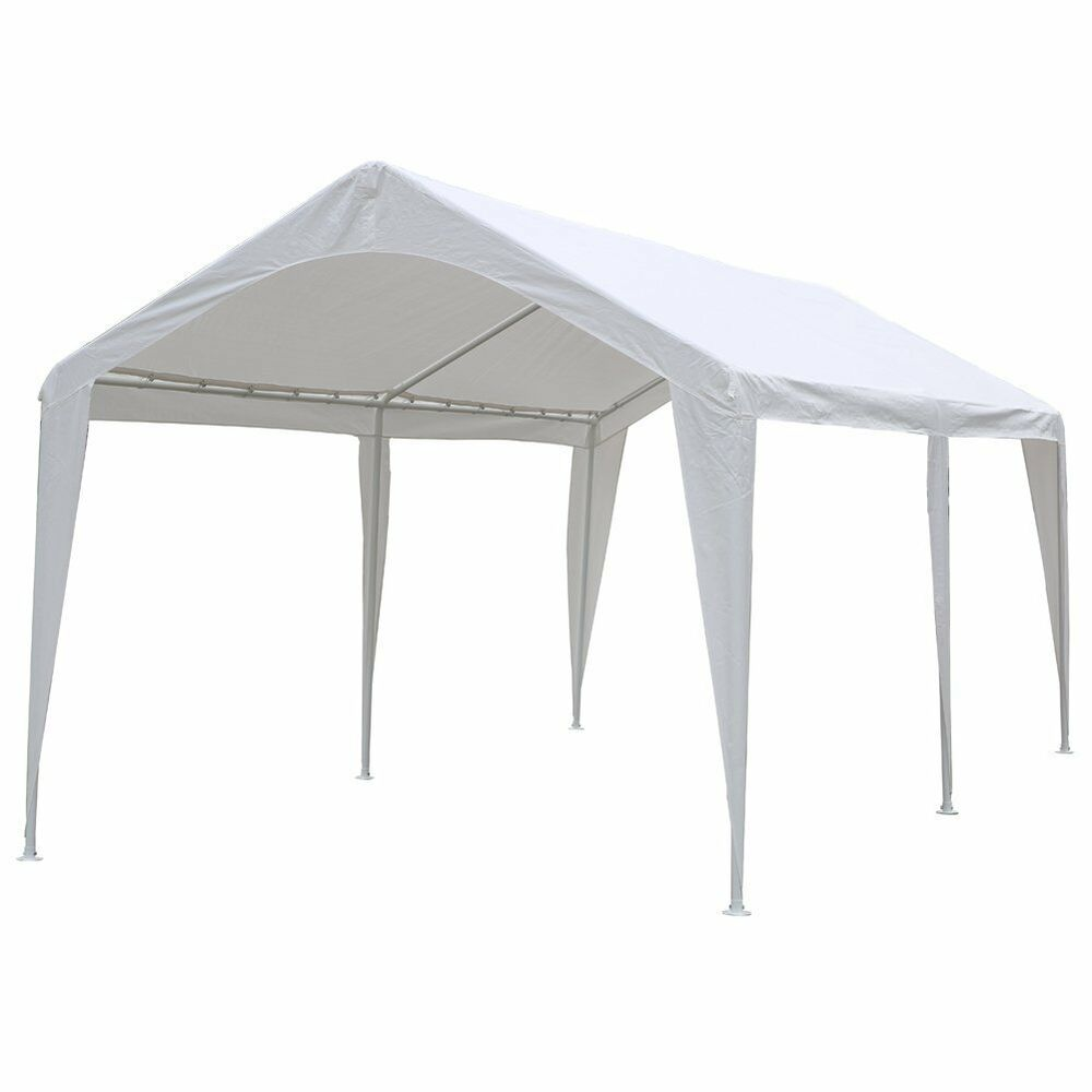 Outdoor Carport Canopy : Abba patio feet outdoor carport canopy with
