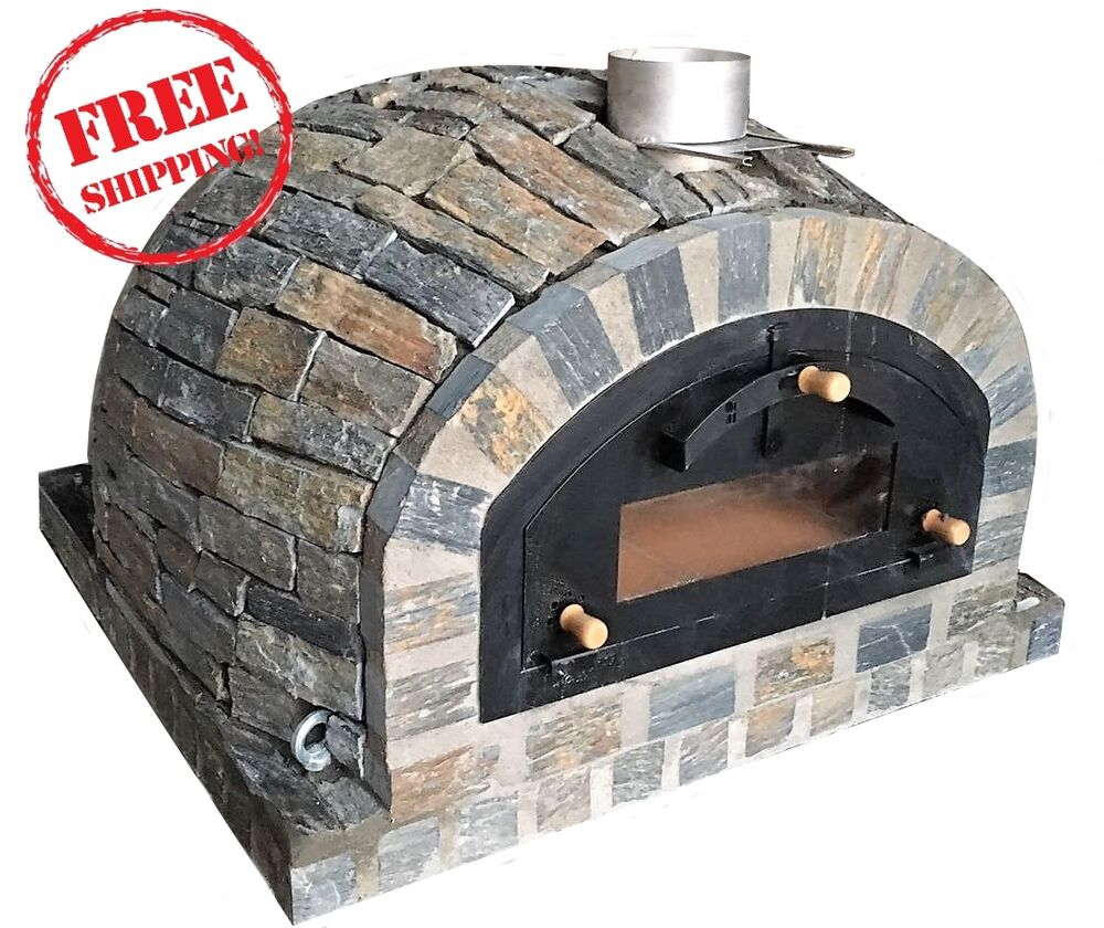 Wood Gas Fired Pizza Oven Exclusive Pizza Model