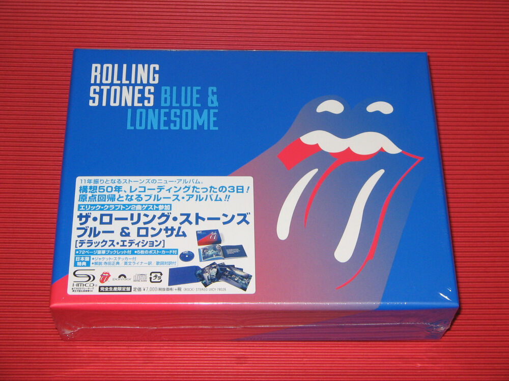 2016 The Rolling Stones Blue Amp Lonesome Japan Shm Cd