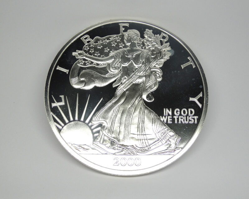 2000 United States Liberty Silver Eagle 1 2 Troy Pound