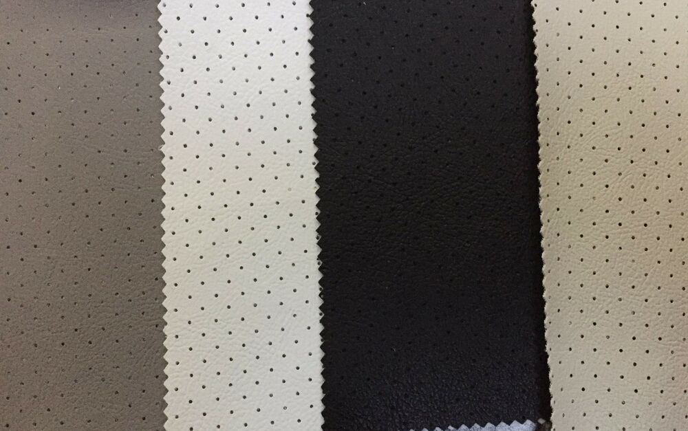 perforated leather headliner fabric auto upholstery seating trimmings door seals ebay. Black Bedroom Furniture Sets. Home Design Ideas