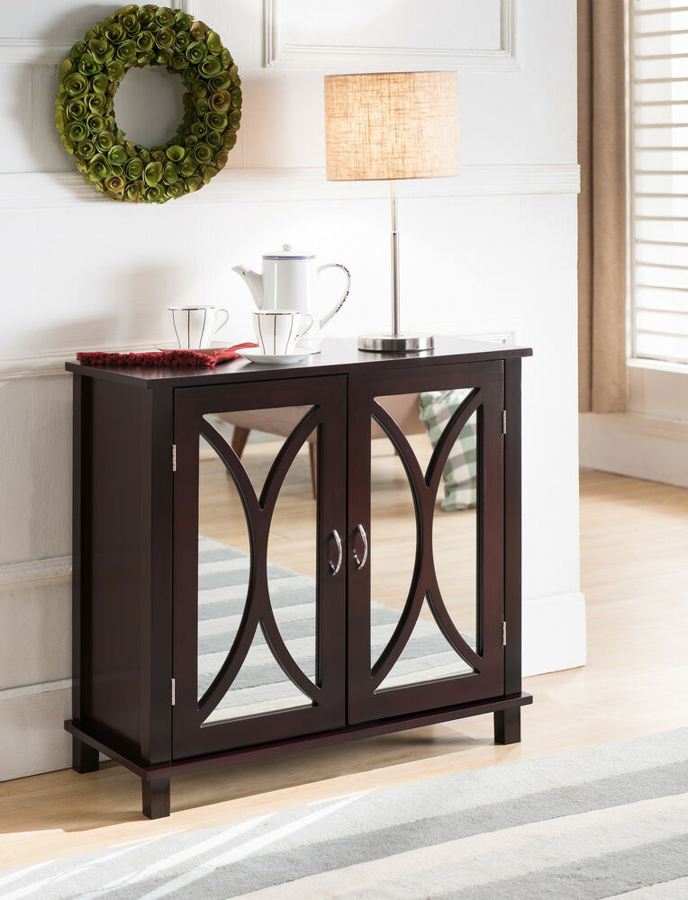 Espresso Entry Foyer Table : Kings brand furniture entryway console sofa side table