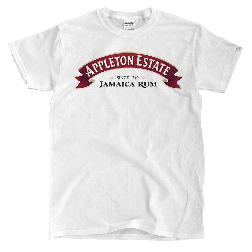 Appleton Estate Jamaican Rum White T-Shirt