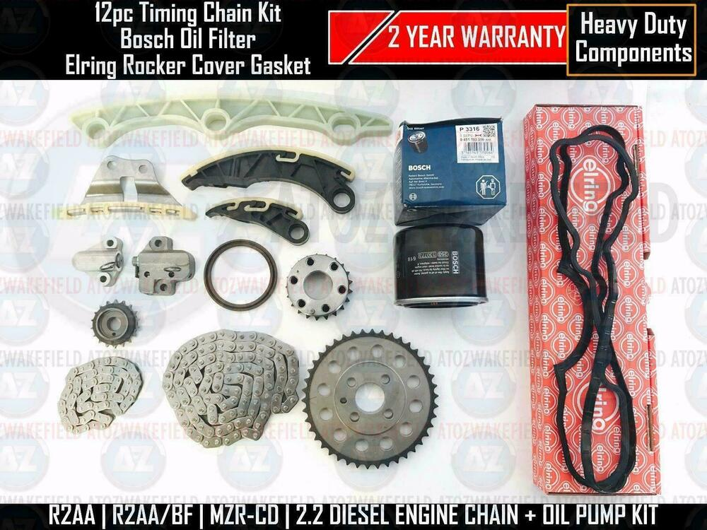 FOR MAZDA 3 6 CX7 2.2 DIESEL TIMING OIL PUMP CHAIN ...