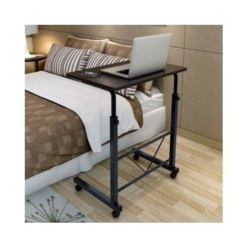 Adjustable over bed desk portable laptop computer sofa for Divan overbed table